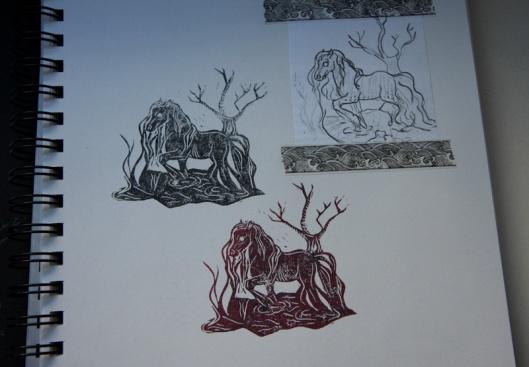 stempel_wasserpferd_skizzenbuch_detail