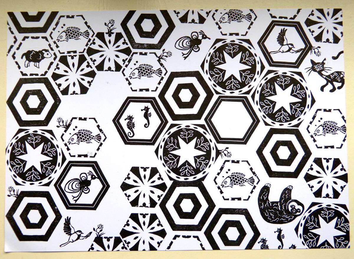 hexagon_mit_viechern